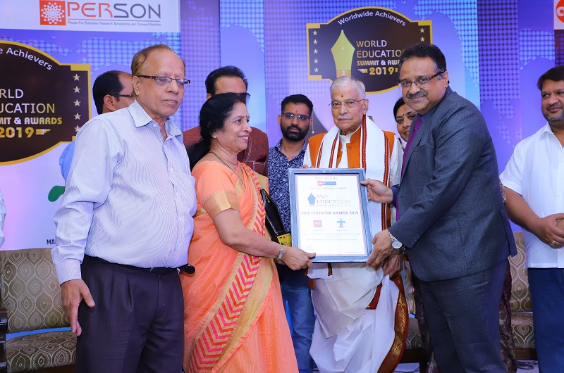 The most promising Medical College in India award